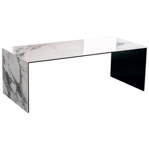 Tavolino Ponte Vetro.Qriosa Stile Italiano Mod Ponte Vecchio Tavolino Basso In Vetro E Ceramica