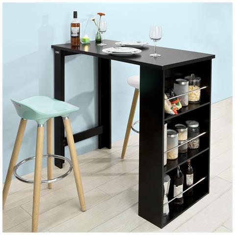 SoBuy - Tavolo Alto Da Bar Moderni, bancone Stile Bar, tavolo Cucina ...