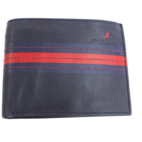 prezzo competitivo 7fd8c 1d061 ARMATA DI MARE Portafogli Uomo Wallet 220 Blu