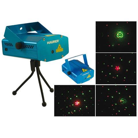 Proiettore Luci Natalizie Visto In Tv.Maurer Proiettore Luci Laser 2 Colori 45 M2 Decorazioni Natale