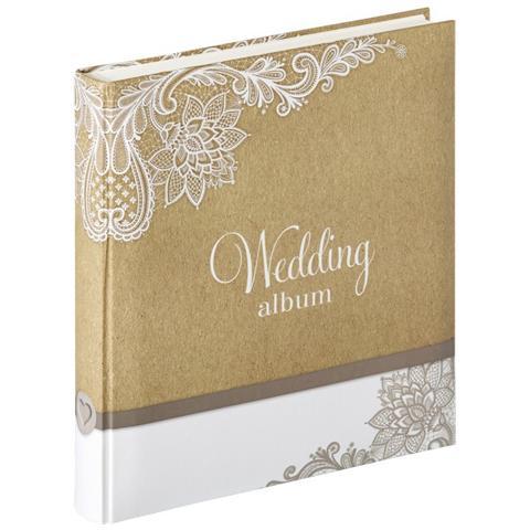 a995630650 Walther Album Fotografico Elemental 28 x 30.5 cm Colore Bianco e Marrone