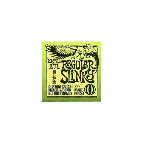 Ernie Ball 3121 Corde Chitarra Elettrica 10-46 Coated Regular Slinky