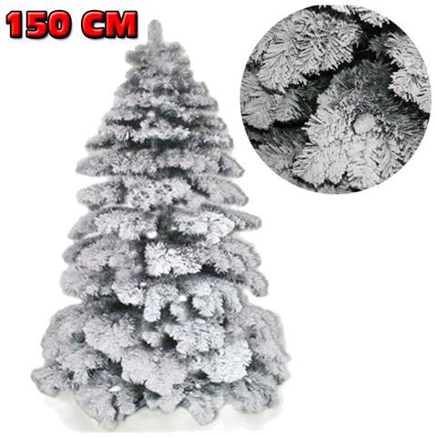 Albero Di Natale 150 Cm.Bakaji Albero Di Natale 150 Cm Abete Snow Con Effetto Innevato