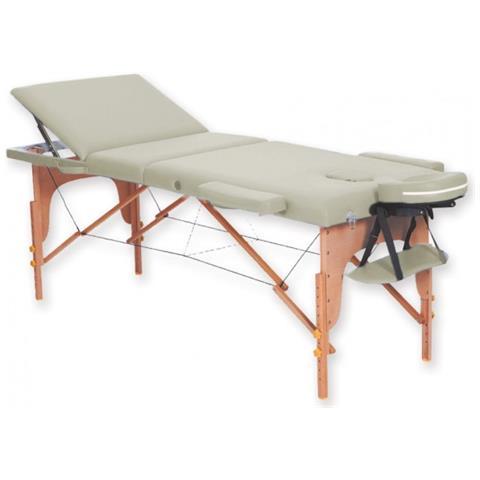 Lettino Da Massaggio In Legno.Gima Lettino Da Massaggio In Legno A 3 Sezioni Crema Eprice