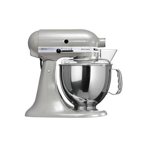 KITCHENAID Robot da Cucina 5KSM150PSEMC Capacità 4.8 L Potenza 300 W Colore  Argento