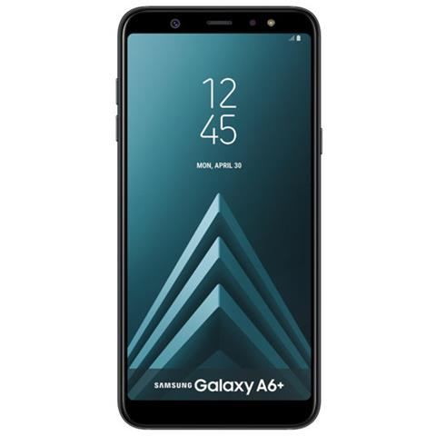 Galaxy A6+ Nero Dual Sim Display 6' Full HD+ Octa Core Ram 3GB Storage 32GB + MicroSD Wi-Fi + 4G Fotocamera 16Mpx Android 8.0 - Italia
