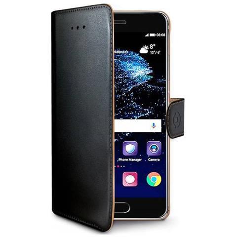 CELLY Custodia a Portafoglio per Huawei P10 Plus Colore Nero