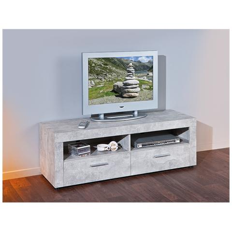 INTERLINK - Porta Tv Moderno Di Design, Laminato Effetto Marmo - ePRICE