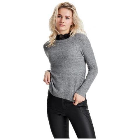 online store 9b5d0 c3a4a Only Isabelle L / s Highneck Pullover Noos Da Donna Taglia Xl