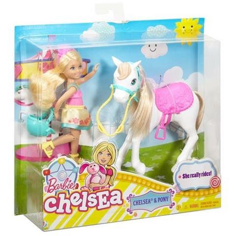 MATTEL - Barbie Chelsea con Pony - ePRICE