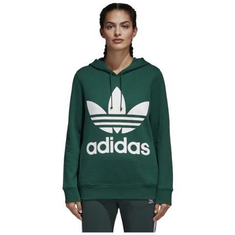 sale retailer f7977 41371 adidas - Trefoil Hoodie Felpa Con Cappuccio Donna Taglia 44 - ePRICE
