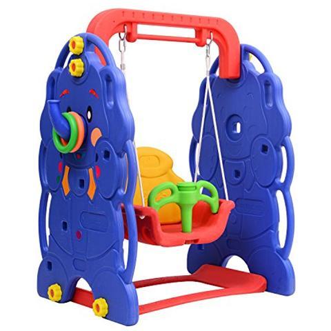 OUTSUNNY - Altalena da giardino per bambini parco giochi giocattoli ...