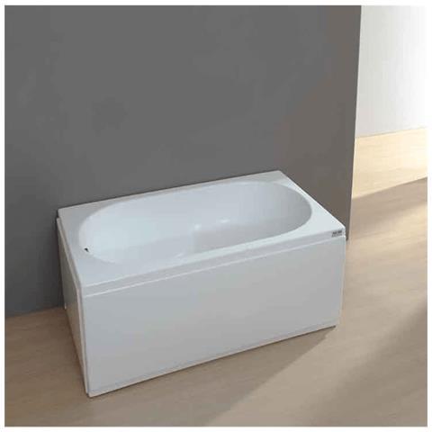 Vasca Da Bagno 120x70 Ideal Standard.Aqualife Vasca Da Bagno Da Incasso Rettangolare Acrilico Virgilia 120x70 Solo Guscio