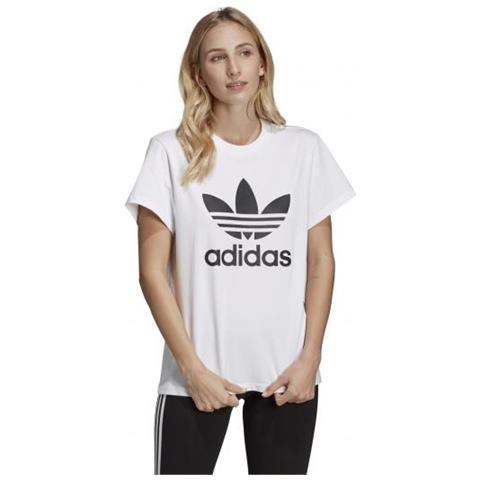 0722ae56a8 adidas Boyfriend Tee T-shirt Manica Corta Donna Taglia 46