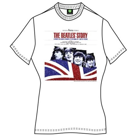 Beatles (The) - Story (T-Shirt Donna Tg. S)