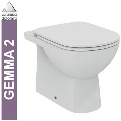 Ceramica Dolomite Gemma 2 Prezzi.Ceramica Dolomite Wc A Pavimento Btw Serie Gemma 2