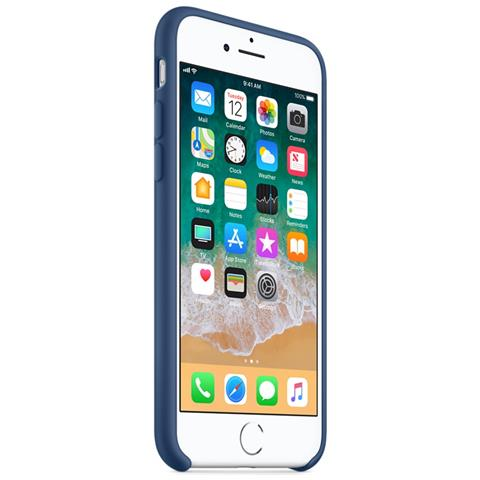 Apple Custodia in silicone per iPhone 7 - Azzurro mare