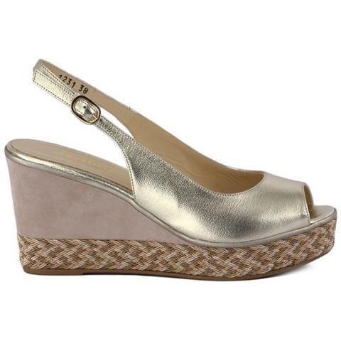 7f4003e05f Melluso - Scarpe Sandalo Con Zeppa R7900 Taglia 36 Colore Oro - ePRICE