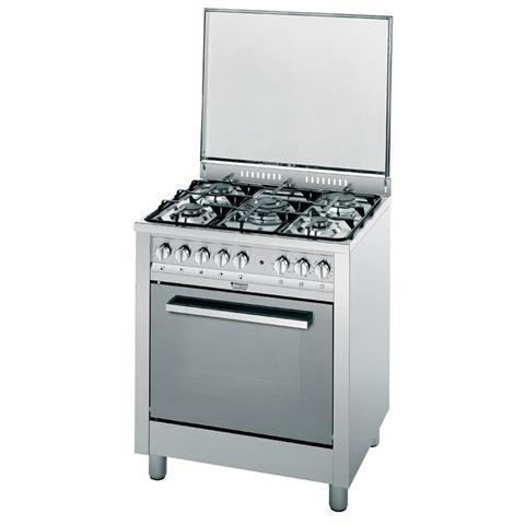 HOTPOINT - CP77SP2 / HA S Cucina a 5 Fuochi Gas con Forno Elettrico ...