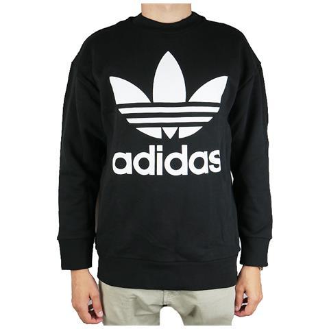 adidas Felpe Adidas Originals Trefoil Oversized Crew Abbigliamento Uomo M