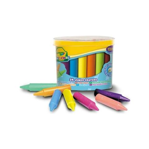Pastelli a cera 64 pezzi Crayola
