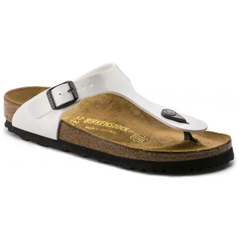 Birkenstock - Gizeh Weiss Sandalo Donna - Calzata Normale Eur 42 - ePRICE b8427cba87f