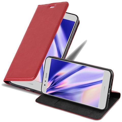 Custodia per Huawei P10 Lite cover a libro portafoglio con chiusura magnetica