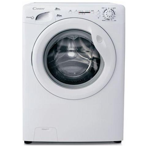 candy - lavatrice slim gc41061d grandò 6 kg classe a+ centrifuga