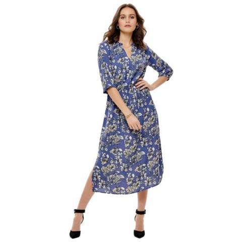 92f75d90f852 Jacqueline de yong - Ilse 3 4 Midi Dress Wvn Rd Abito Donna Tg. Francese 36  - ePRICE