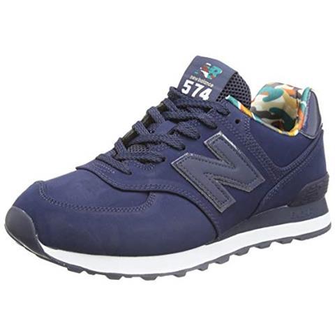 NEW BALANCE 574 Ml574gyz Medium, Scarpe Da Ginnastica Uomo, Blue (navy Gyz), 45 Eu