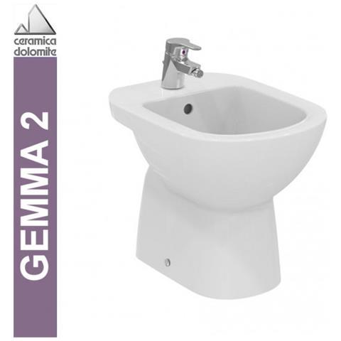 Ceramica Dolomite Gemma 2 Prezzi.Ceramica Dolomite Bidet A Pavimento Ceramica Dolomite Serie Gemma 2 J522401