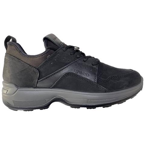 detailing 00865 aae5c Igi&co 4114500 Slip-on Mocassino Sneakers Scarpe Casual Uomo In Pelle Nero  42