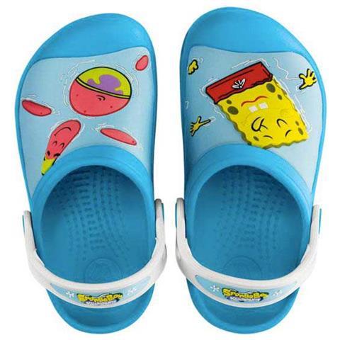CROCS Ciabatte Crocs Spongebob   Patrick Star Splash In The Sea Electric  Scarpe Ragazzi Eu 21-22 76b714158df