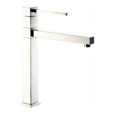 HOMEGARDEN - Miscelatore rubinetto da cucina cromato moderno 25mm ...