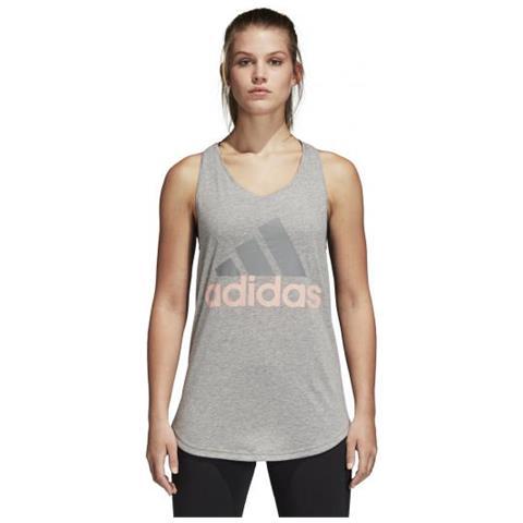 Tank Adidas Essentials Loose Da Training Donna Linear Canotta m8nv0wNO