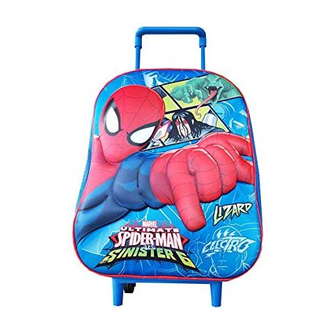 a01b17a367 Marvel - Zaino Asilo 3d Con Trolley Spiderman Basic - ePRICE