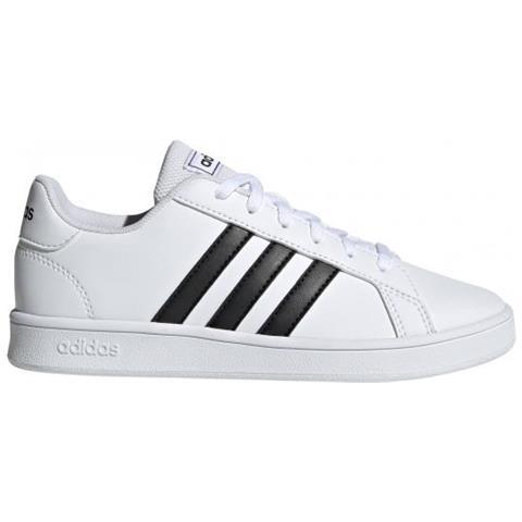 huge selection of b5303 0f66a adidas Grand Court K Scarpe Da Bambino Uk Junior 30