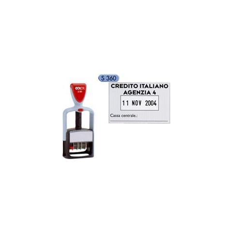 0bdfc1522b COLOP - timbro datario personalizzabile s360 30x45mm colop - ePRICE