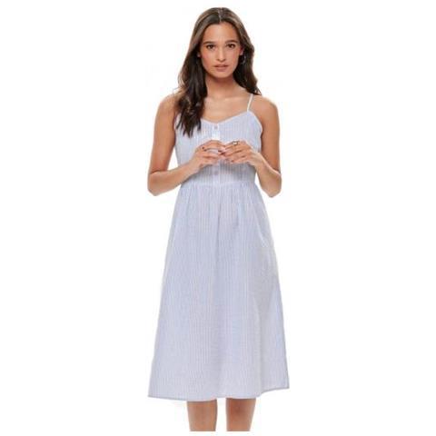 new arrival 0908f 91aba Jacqueline de yong Karim Strap Dress Sbagliato Vestito Da Donna Tg.  Francese 40