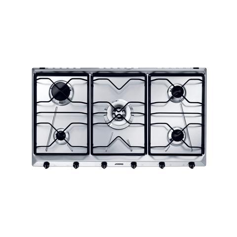 SMEG - Piano Cottura SRV596-5 a Gas 5 Fuochi Gas Colore Inox - ePrice