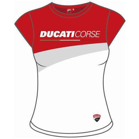massimo stile corrispondenza di colore up-to-date styling PRITELLI 1836009 Maglia t-shirt donna DUCATI corse 2018 originale colore  unico TG. S