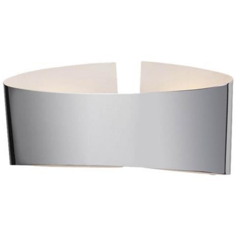 Homemania - Lampada A Parete Belt Color Cromo, In Metallo - Arredo ...