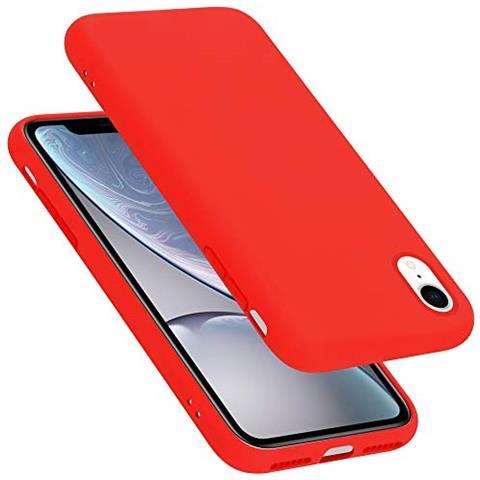 Cadorabo Custodia Per Apple Iphone Xr In Liquid Rosso Morbida Cover Protettiva Sottile Di Silicone Tpu Con Bordo Protezione Ultra Slim Case Antiurto Gel Back Bumper Guscio Eprice