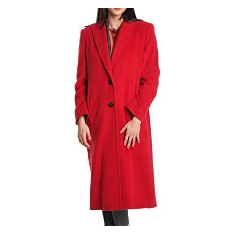 Taglia Rosso Eprice Venus Cappotto 911t1011400 42 Donna Lana Y7f6ybgv
