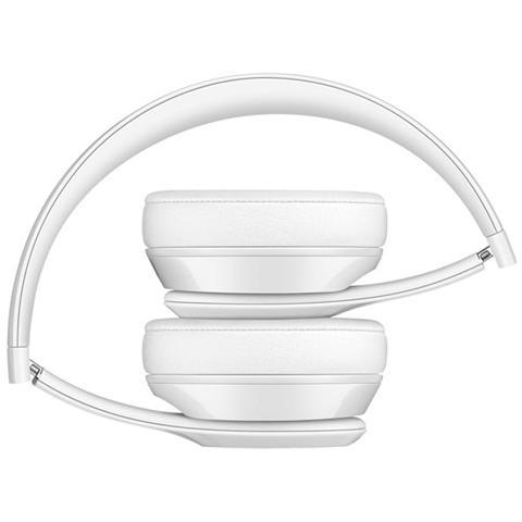 BEATS BY DRE Cuffie Wireless con Microfono Beats Solo 3 Colore Bianco Lucido ef0a8d476b4b