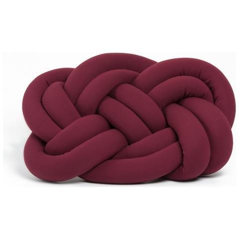 Cuscini Per Divano Bordeaux.Homemania Cuscino Decorativo Cloud Knot Bordeaux Cotone Lycra