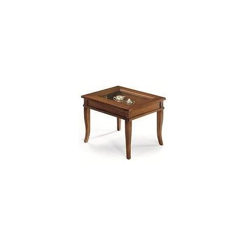 Tavolino Bacheca Arte Povera.Estea Mobili Tavolino Bacheca Vetro Arte Povera Super Prezzo