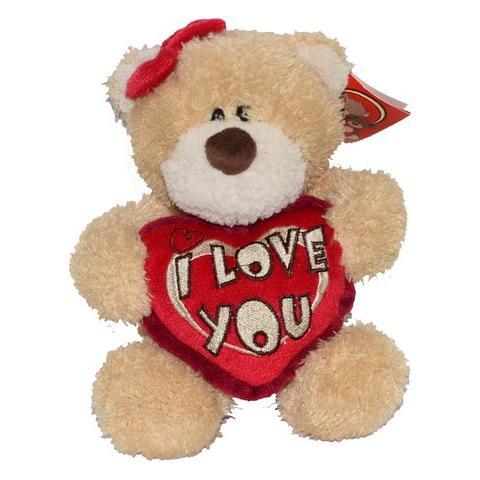 Gifa Gifts San Valentino Peluche Teddy Orsetto Con Cuore I Love