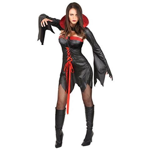 massima qualità scegli il più recente ultime tendenze del 2019 JADEO Vestito Vampiro Halloween Donna Small