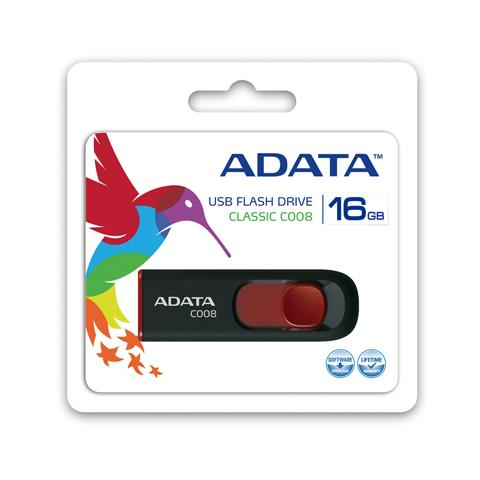 16GB C008, 10g, Nero / Rosso